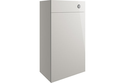 VALESSO 500MM WC UNIT -LIGHT GREY