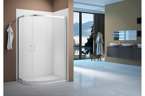 MERLYN VIVID BOOST 1200X800MM 2 DOOR OFFSET QUADRANT