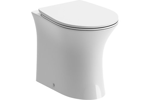 SANDRO RIMLESS BTW TOILET & SC SEAT