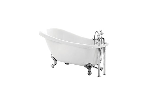 BAYSWATER SLIPPER FREESTANDING 1700X730 2TH BATH INC. FEET
