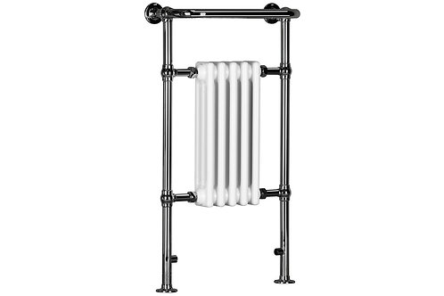 ETERNO TRAD TOWEL WARMER 538X963 WHITE