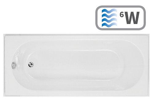 CASCADE S/END 1700X800 0TH BATH W/WHIRL