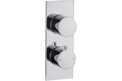 SPHERE SLIM PLATE CONCEALED TWIN OUTLET