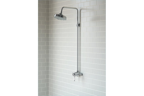 TRADITIONAL CONCENTRIC SINGLE OUTLET & OVERHEAD SHOWER