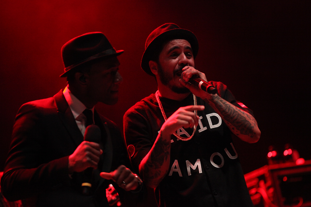 Aloe Blacc e Marcelo D2