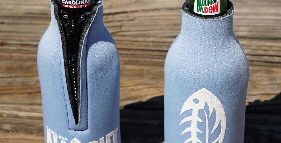 CAO Bottle Koozie Carolina Blue
