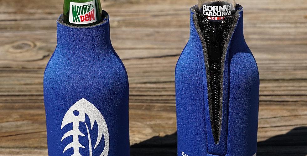 CAO Bottle Koozie Blue