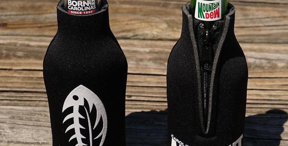 CAO Bottle Koozie Black