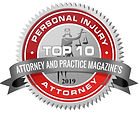 2019 Top 10 Personal Injury Law