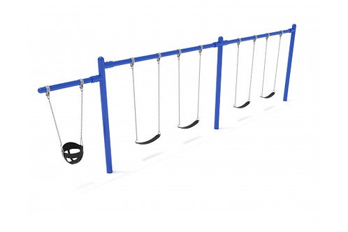 7/8 feet high Elite Cantilever Swing - 2 Bays 1 Cantilever