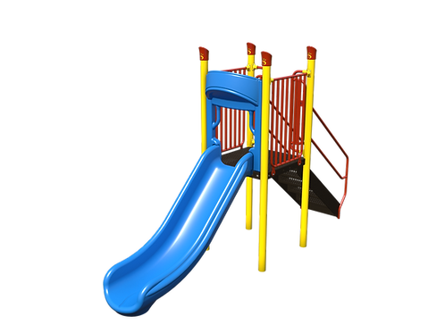 Straight Chute Slide