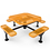 Thumbnail: Octagon Nexus Pedestal Table with Diamond Pattern