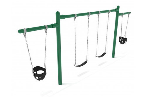 7/8 feet high Elite Cantilever Swing - 1 Bay 2 Cantilevers