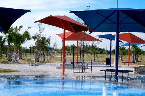Tilt and Swivel Umbrella