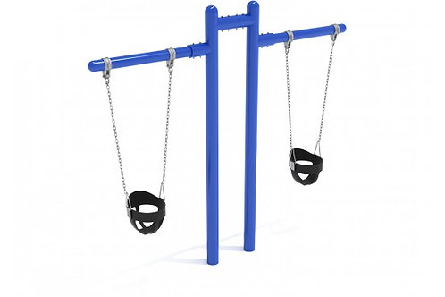 7 feet high Elite Early Childhood T Swing - 2 Cantilevers