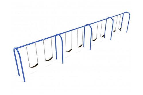 8 feet high Elite Arch Post Swing - 4 Bays