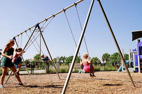 Bi-Pod Swing Frame 1-Bay