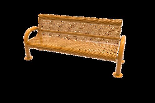Diamond Pattern MOD Bench with Back