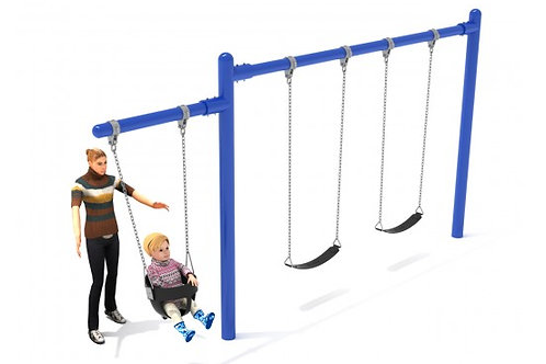 7/8 feet high Elite Cantilever Swing - 1 Bay 1 Cantilever