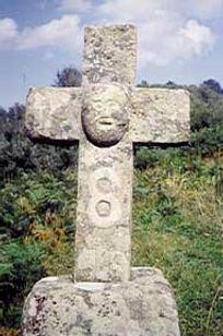 Les énigmes de Morenci, vue de l'énigmatique croix intacte.