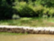 Retenue de pierre sèche du gouffre de Cabouy