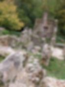 Moulin à turbines de Tournefeuille. Vue en longueur.