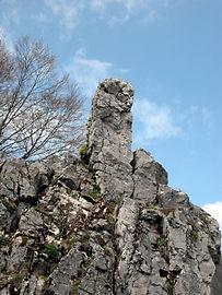 Les énigmes de Morenci, vue rapprochée du monolithe 2