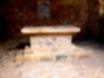 Vue de l'autel de l'église de Saint-Martin