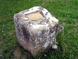 Les énigmes de Morenci, vue de la croix complètement détruite.