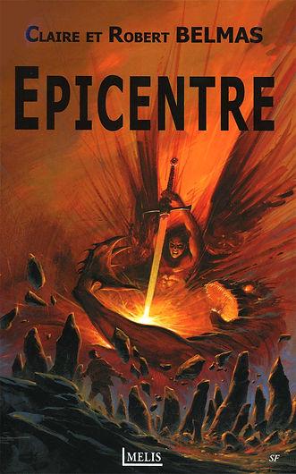 """Couverture de notre roman """"Epicentre"""""""