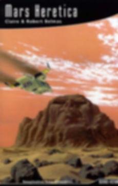 """Couverture de notre roman """"Mars Heretica""""."""