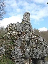 Les énigmes de Morenci, vue rapprochée du monolithe 1