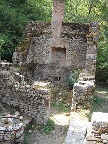 Moulin à turbines de Tournefeuille. Vue de l'habitation.