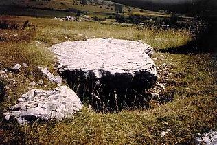 dolmen, vue du dolmen simple 1