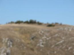 fortifications protohistoriques, cap barré du Cayla, vue rapprochée