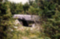 dolmens, vue du dolmen simple 3