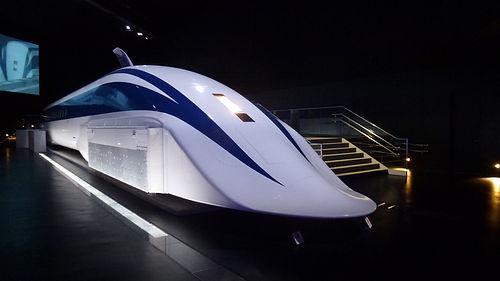 Train futuriste.