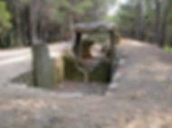 dolmen, très long dolmen, appelé allée couverte