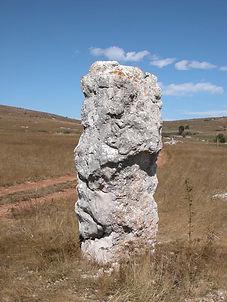 mégalithes, menhir, vue du menhir simple 3