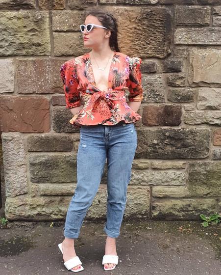 Handmade blouse