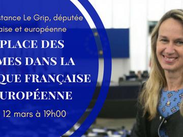 La place des femmes dans la politique française et européenne