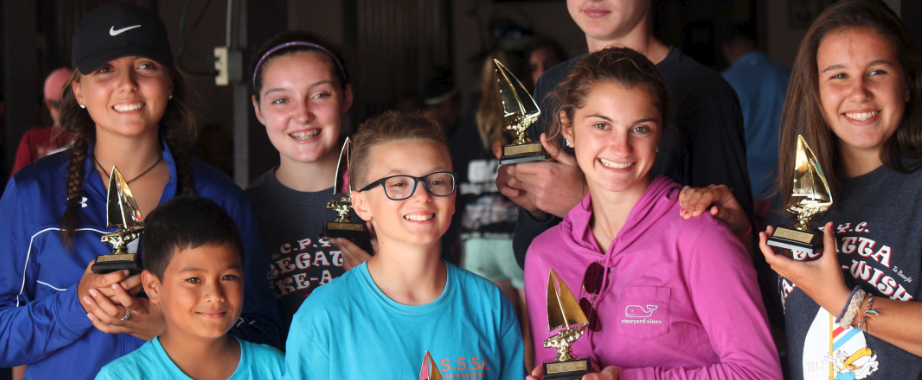 SYC Sailors with awards