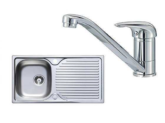 Astacast Hudson single sink  and Tap