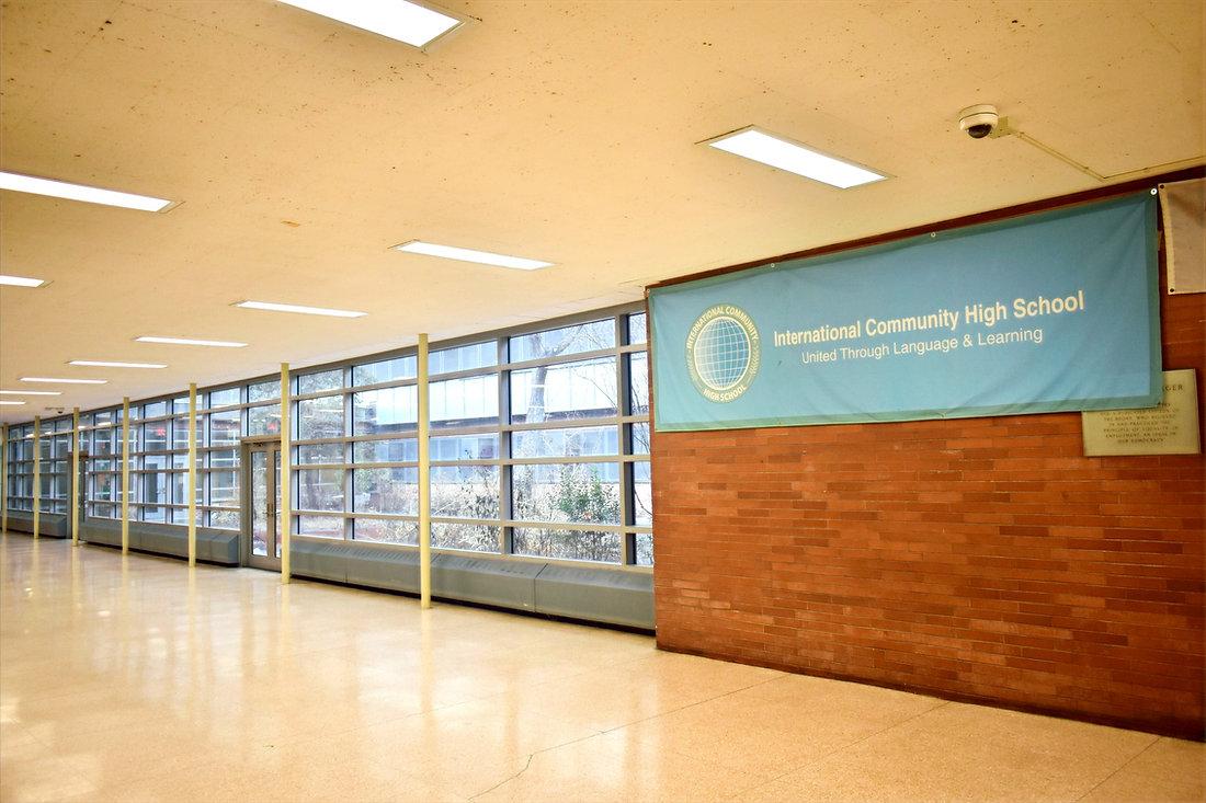 ICHS hallway