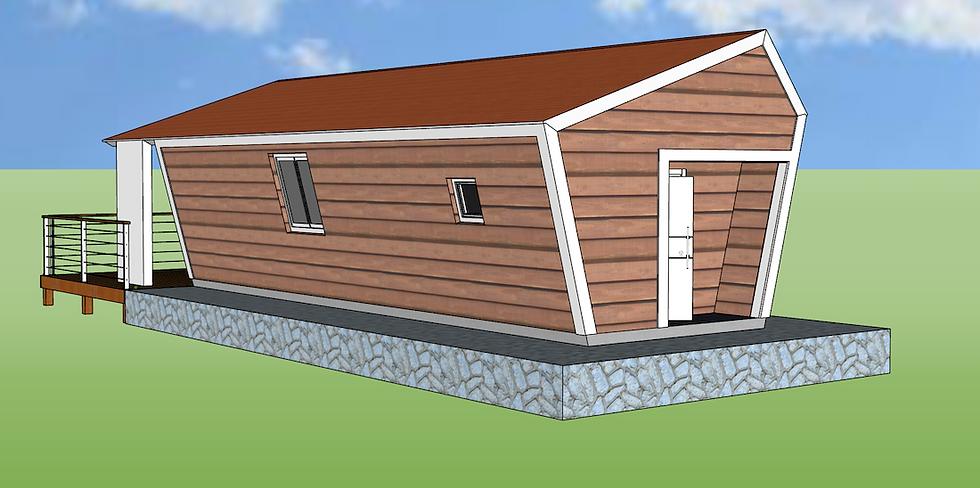 45 m2 Tiny House