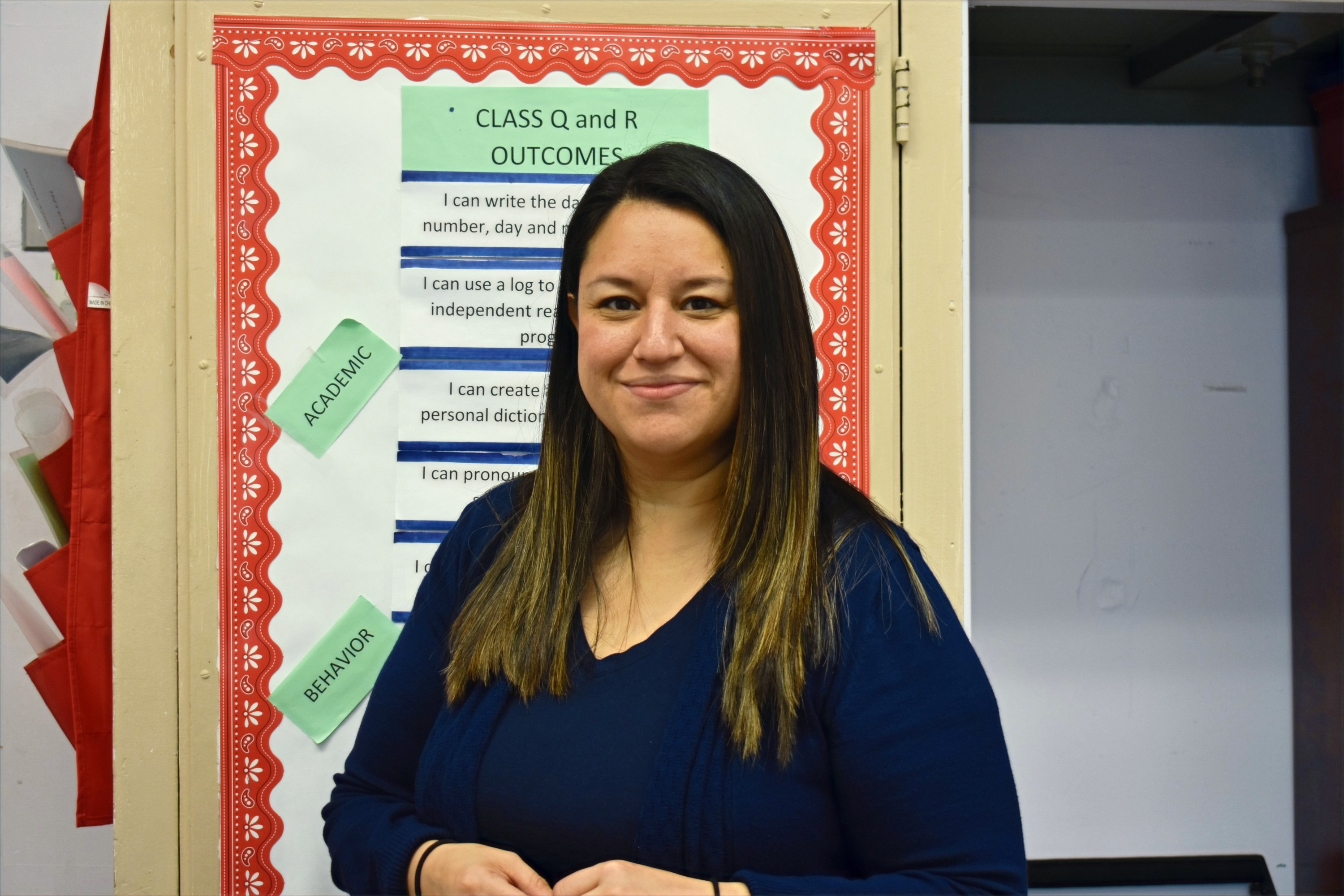 ICHS Teacher Ivonne Mora English Bridges