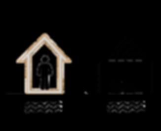 Depreme dayanıklı prefabrik ev