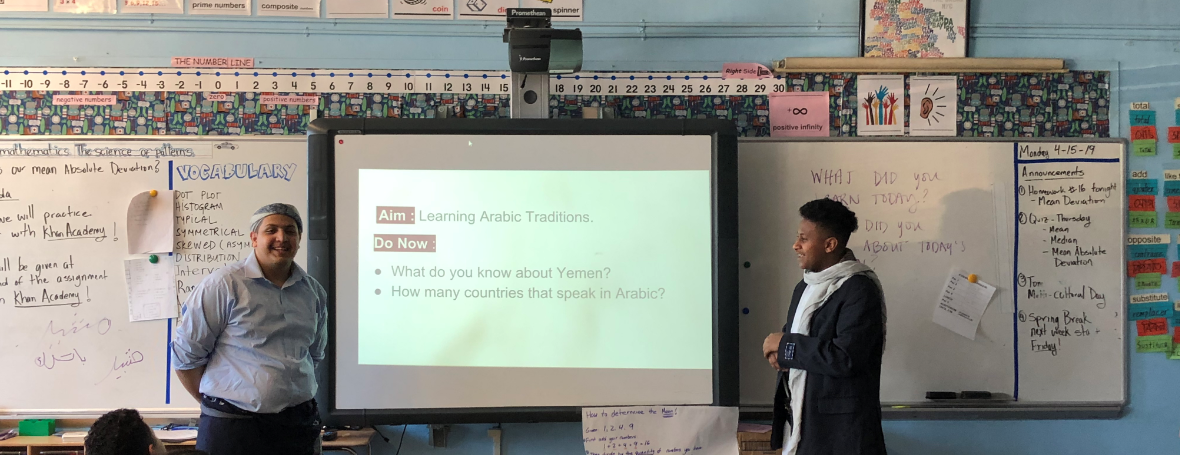 Sharing Cultures by Teaching Customs
