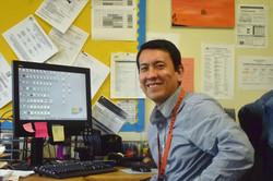 ICHS teacher Hugo Lanchipa Math Programm