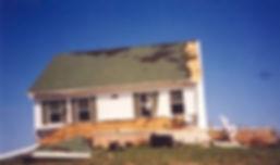 Rüzgara dayanıklı prefabrik ev